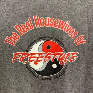 Real Housewives of Freestyle Graphic Tee NWT   L